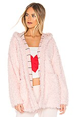 Splendid Teddy Sleep Jacket in Ballerina Pink