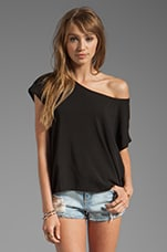 Shirting Tee in Black