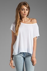 Shirting Top in White