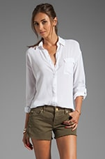 Splendid Shirting Button Up in White