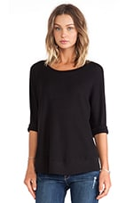 Thermal Top in Black