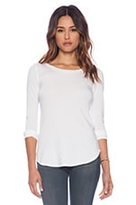 Tencel Jersey Top in White
