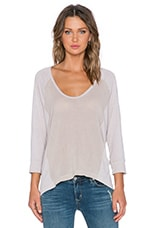 TOP MANCHES LONGUES COTTON GAUZE