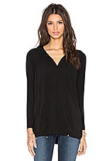 TOP MANCHES LONGUES V NECK