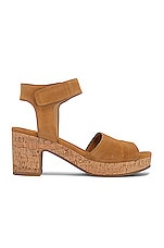 Splendid Thatcher Sandal in Ochre Yellow