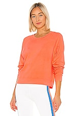 Splits59 Tilda Sweatshirt in Neon Coral