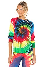 Splits59 Warm Up Pullover in Tie Dye
