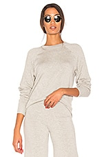 Splits59 Warm Up Pullover in Light Heather Grey
