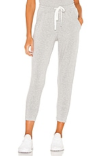 Splits59 Reena 7/8 Fleece Sweatpant in Heather Grey