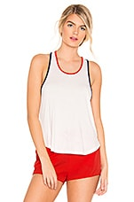 Splits59 Pin Tank in Off White, Indigo & Sunset