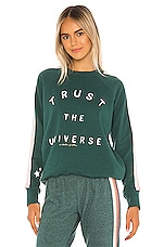 Spiritual Gangster Trust Classic Crew Sweatshirt in Jade
