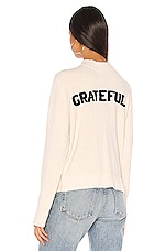 Spiritual Gangster Serenity Sweater in Sandshell