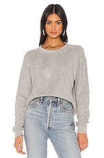 Spiritual Gangster Halley Chunky Sweater in Grey