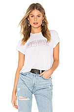 Spiritual Gangster Good Vibes Active Crop Tee in White