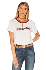 T-SHIRT GOOD VIBES MINI HEART