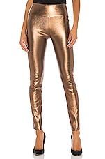 SPRWMN High Waist Ankle Legging in Dark Bronze