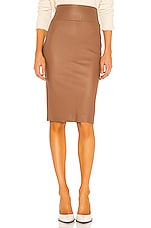 SPRWMN Pencil Skirt in Hazelnut