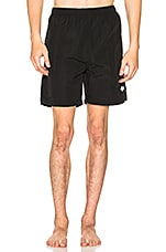 Stussy Stock Water Short in Black
