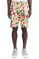 Vintage Flower Short in Khaki