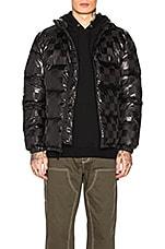 Stussy Puffer Jacket in Black