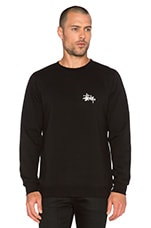 Basic Logo Pullover in Black