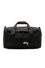 Stussy Stock Duffle Bag in Black