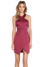 Lean on Me Dress in Pomegranate