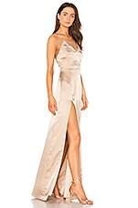 STYLESTALKER Lilah Maxi Dress in Champagne