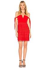 STYLESTALKER Jackson Dress in Fire Red