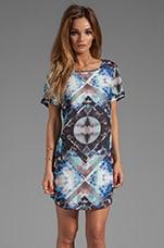 STYLESTALKER Space Jam Dress in Galaxy Print