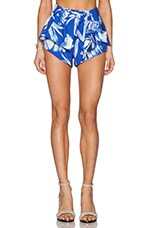 Blue Jasmine Shorts in Blue Fresh Floral