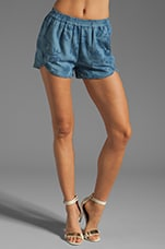 Replicants Shorts in Chambray Floral