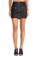 Streets of Fire Mini Skirt on Black