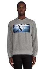 Flight Crew Sweatshirt in Heather Grey