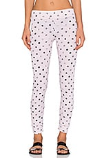 LEGGINGS THERMAL POLKA DOT