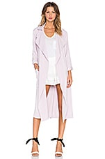 State of Being Edie Trench Coat in Lilac