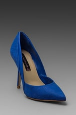Akcess Pump in Blue Nubuck