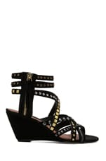 Soulfil Sandal in Black