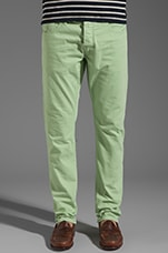 Ralston Slim Garment Dye in Mint