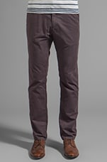 Twill Chino in Tabacco