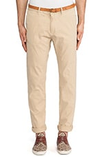 Basic Belted Slim Fit Chino in Kit
