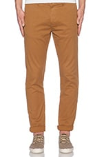 Basic Garment Dyed Chino in Tobacoo