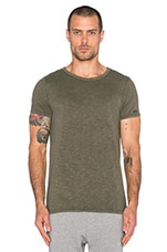 Crewneck Tee in Army