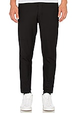 Hi-Low Trouser in Black
