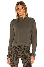 STRUT-THIS Georgie Sweatshirt in Olive