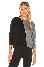 STRUT-THIS Allure Sweatshirt in Black & Grey