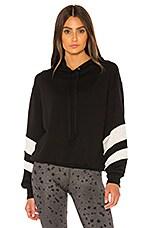 STRUT-THIS Josie Sweatshirt in Black & White