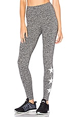 Star Legging in Grey