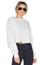 STRUT-THIS The Sonoma Sweatshirt in Grey French Terry