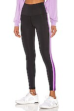 STRUT-THIS Sage Ankle Legging in Black & Lilac